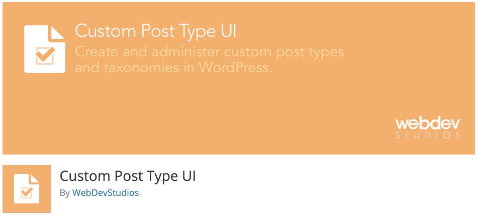 WordPress Custom Post Type Plugin