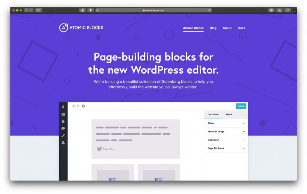 Atomic Blocks für den WordPress Editor