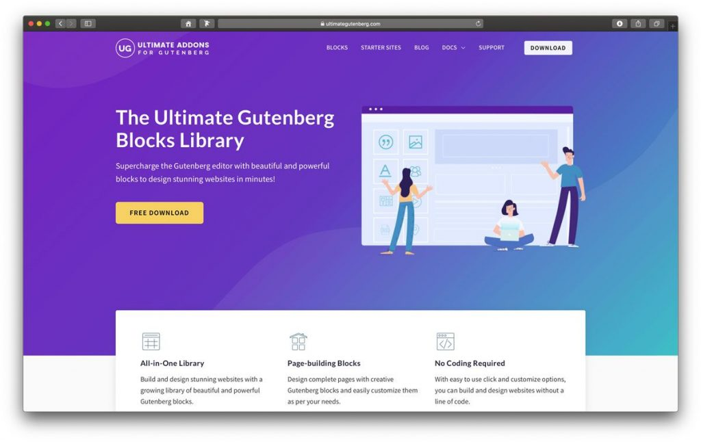 Ultimate Adens WordPress Gutenberg Plugin
